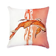 Koi Outdoor Lumbar Pillow