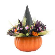 Ghost Bash Witch`S Hat Wreath