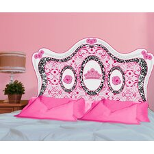 Peel and Stick Fancy Girl Panel Headboard