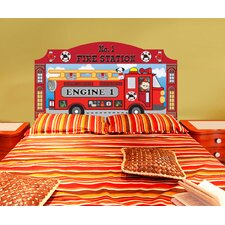 Peel and Stick Fireman Panel Headboard