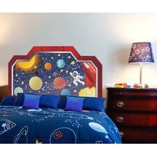 Peel and Stick Space Boy Panel Headboard