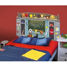 Peel and Stick Sports Panel Headboard