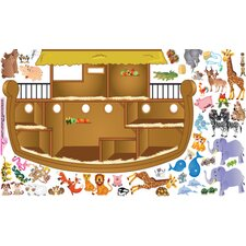 Peel and Play Noah's Ark Wall Play Set