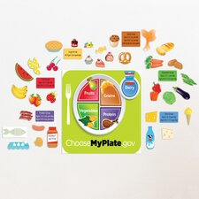 Peel and Learn Food Groups Wall Stickers