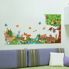 Peel and Play Forest Wall Stickers
