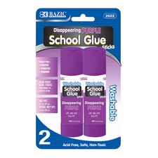Washable Purple Glue Stick (Set of 2)