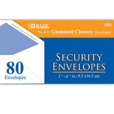 80 Ct. Security Envelopes (Set of 24)