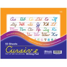 Cursive Writing Pad (Set of 48)