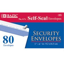 80 Ct. Self-Seal Security Envelopes (Set of 24)