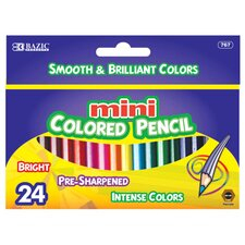 24 Mini Color Pencil Set