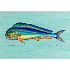 Coastal Dolphin Outdoor Wall Hanging