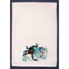 Coastal Crab Hand Towel