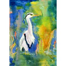 Coastal Blue Heron Wall Hanging