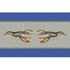 Coastal Lobster Door Mat
