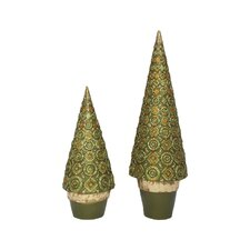 Lombardy Cone Tree (Set of 2)