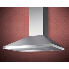 700 CFM Professional Chimney Wall Hood