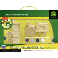 Works of Ahhh Heritage Tractor and Wagon Wood Paint Kit