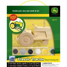 Works fo Ahhh Classic Tractor Wood Paint Kit