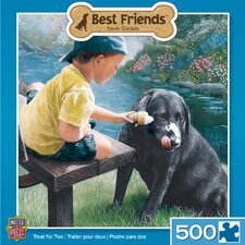 Kevin Daniels Treat for Two 500 Piece Jigsaw Puzzle