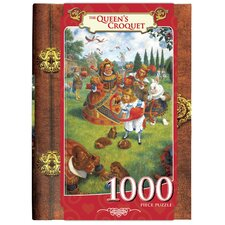 Scott Gustafson The Queen's Croquet 1000 Piece Jigsaw Puzzle