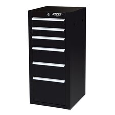 "16"" 6 Drawer Side Cabinet"