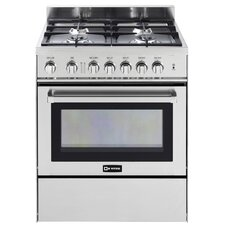 "30"" Gas Range With Storage"