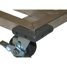 Optional Corner Bumper for Mobile Dunnage Racks