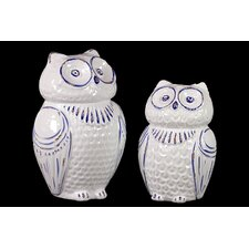 Ceramic Owl (Set of 2)