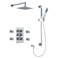 Kuatro Square Shower Set