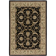 American Heirloom Hilary Black Rug