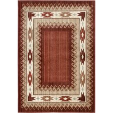Anthology Durango Brown/Red Rug