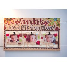 Grandkids Clip Canvas Art