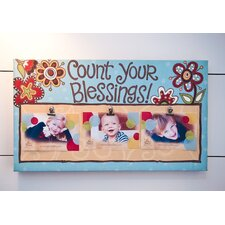 Count Your Blessings Clip Canvas Art