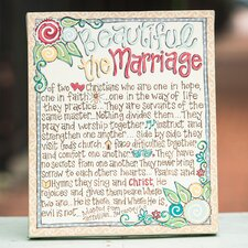 Beautiful The Marriage Table Top Canvas