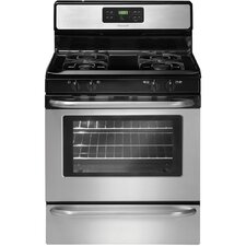 "30"" Freestanding Gas Range with 5 Cu. Ft. Self-Clean Oven"