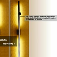 Stilletto Duo 2 Light Wall Sconce