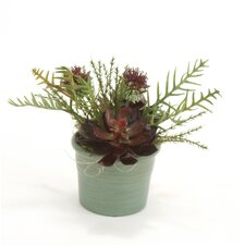 Faux Arrangement in Craven Pot (Set of 3)
