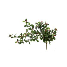Artificial Holly Bush Vine (Pack of 6)