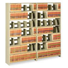 Snap-Together Open Shelving 6-Shelf Closed Add-On