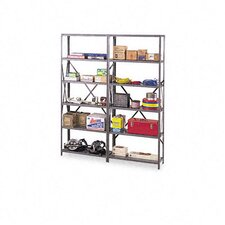 Industrial Steel Shelving for 87 High Posts, 36W X 24D, 6/Carton