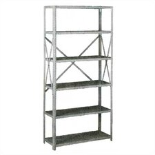 Q Line Box-Formed Shelf Kit, 6 Shelves