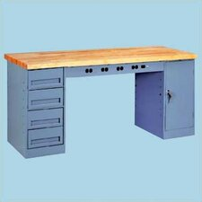 Electronic Workbench with 1 Drawer & 1 Cabinet