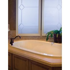 "Designer Lorraine 74"" x 44"" Air Tub with Thermal System"