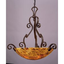 Ibiza 5 Light Large Bowl Inverted Pendant