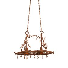 Ponderosa 2 Light Hanging Pat Rack