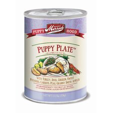 Puppy Plate Canned Dog Food (13.2-oz, case of 12)