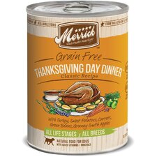 Thanksgiving Day Dinner Canned Dog Food (13.2-oz, case of 12)