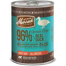 Grain Free Real Duck Canned Dog Food (13.2-oz, case of 12)