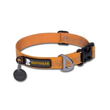 Headwater™ Stink-Proof Dog Collar in Orange Sunset