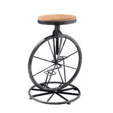 Michaelo Bicycle Wheel Adjustable Barstool